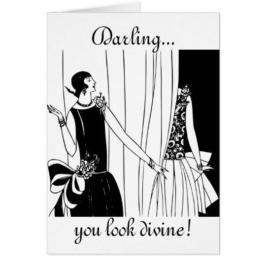 Darling, You Look Divine: Funny Birthday Card