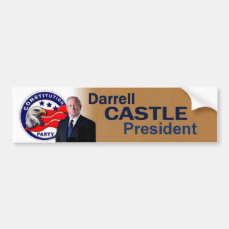 Darrell CASTLE 2016 Bumper Sticker