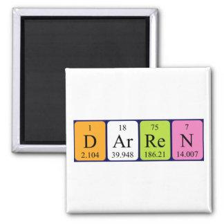 Darren periodic table name magnet