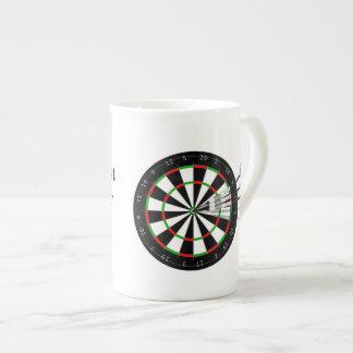 Dart Board And Darts Britain's Best Darts Player Bone China Mug