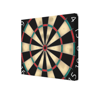 Dart Board Canvas Print
