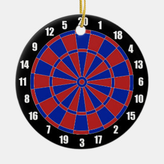Dart Board Ornament