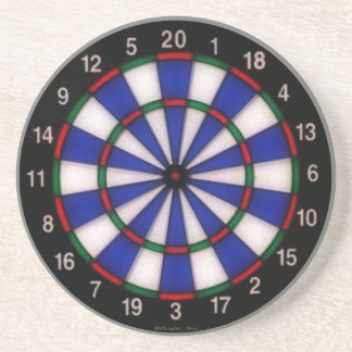 Dart Board Fun Beverage Coaster