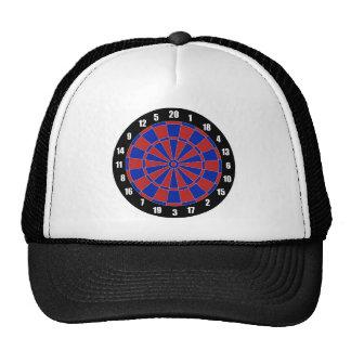Dart Board Mesh Hat