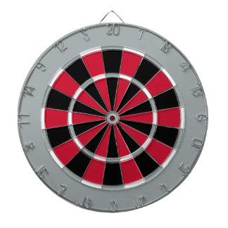 Dart Board in Carolina Hockey Colors