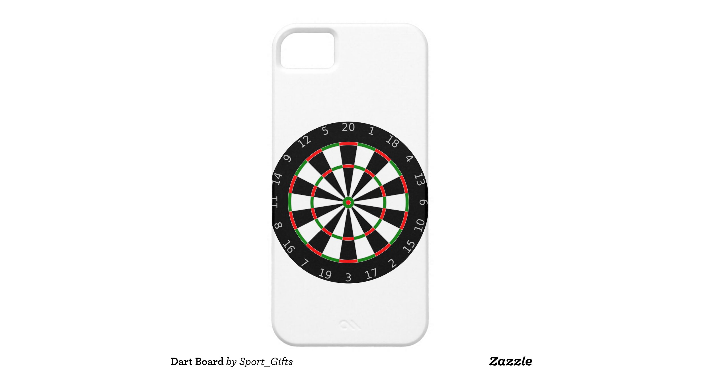 dart board iphone 5 cover