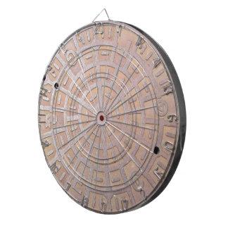 Dart Board - Manhole cover