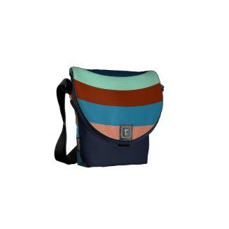 Dart Board Pattern Courier Bags