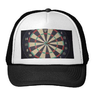 Dart_Board,_Red_Dart,_Bulls_Eye, Hats