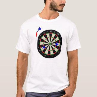 Dart board with darts T-Shirt