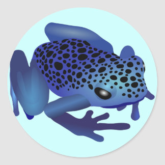 Dart Frog Classic Round Sticker