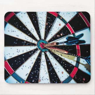 Dart game mouse pad