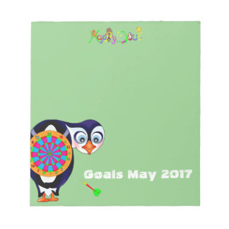 Dart Penguin by The Happy Juul Company Notepad