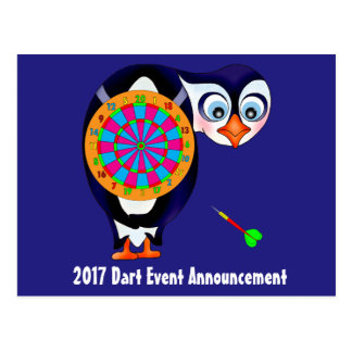 Dart Penguin by The Happy Juul Company Postcard