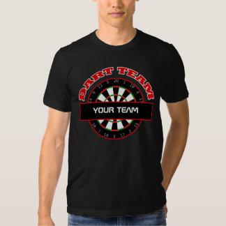 Dart Team Dartboard Mens Black T-shirt
