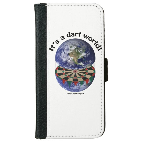 Dart World Phone Cover/Case iPhone 6 Wallet Case