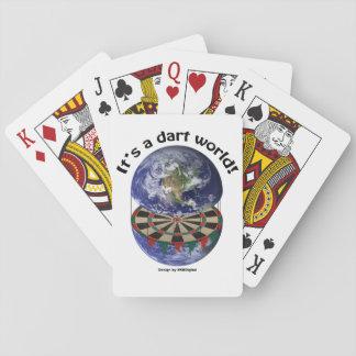 Dart World Playing Cards