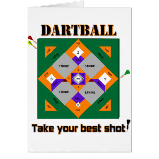 Dartball Card