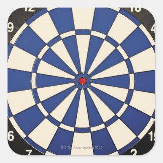 Dartboard 2 square sticker