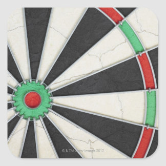 Dartboard 4 square sticker