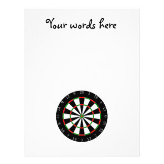 Dartboard background flyer