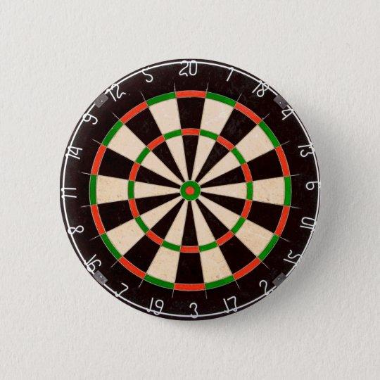 Dartboard Badge Pin Button