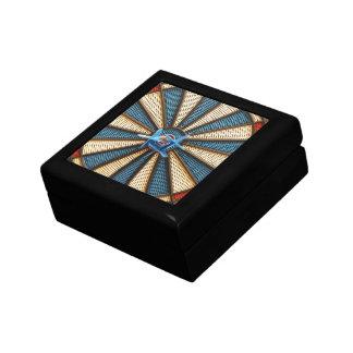 Dartboard Bullseye Small Square Gift Box
