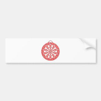 Dartboard Bumper Sticker