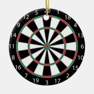 DARTBOARD! (game of darts) ~ Christmas Ornament