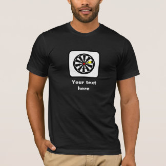 Dartboard Graphic - Personalize with Your Text T-Shirt