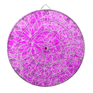 Dartboard Informel Art Abstract