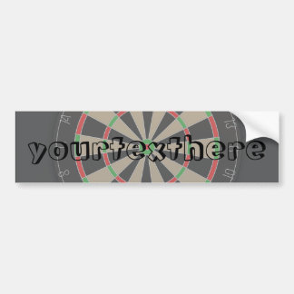 Dartboard Lover Bumper Sticker