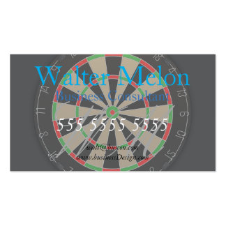 Dartboard Lover Pack Of Standard Business Cards