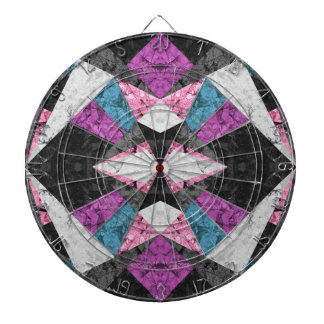 Dartboard Marble Geometric Background G438