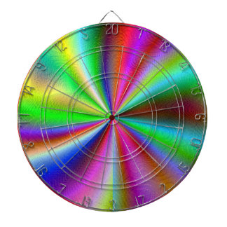 Dartboard. Metallic sheen design Dartboard