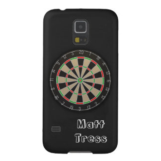 Dartboard Name Monogram Galaxy S5 Covers