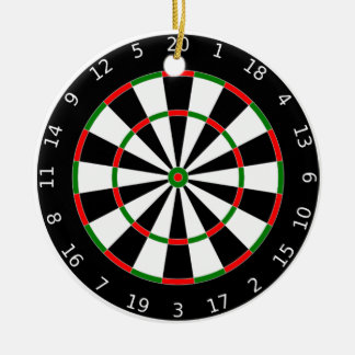 Dartboard Ornament