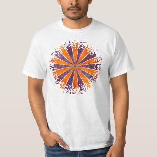DARTboard shine - 1 orange Violet Grunge T Shirt