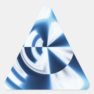 Dartboard Sky Triangle Sticker