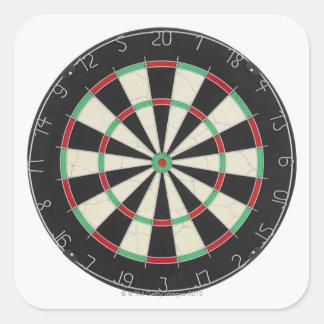 Dartboard Square Sticker