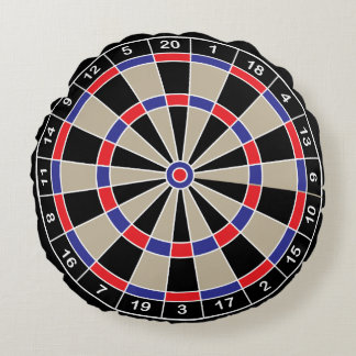 Dartboard Throw Cushion