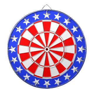 Dartboard USA Flag
