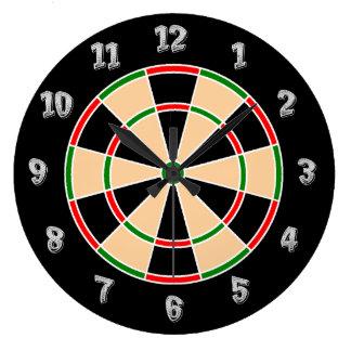 Dartboard Wall Clock. Clocks