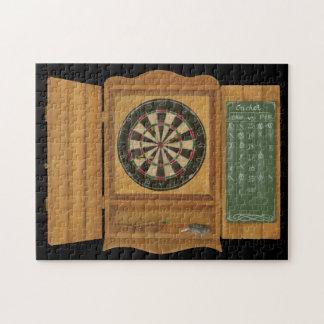 Dartboard with Cricket Scoring Jigsaw Puzzle
