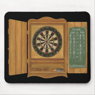 Dartboard with Cricket Scoring Mouse Mat