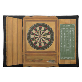 Dartboard with Cricket Scoring Placemat
