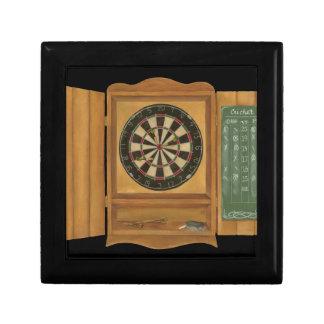 Dartboard with Cricket Scoring Small Square Gift Box
