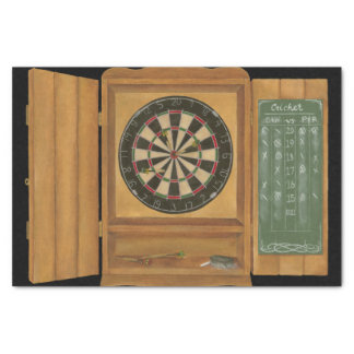 Dartboard with Cricket Scoring Tissue Paper