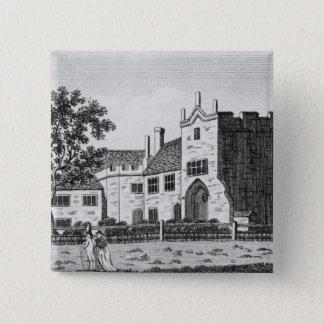 Dartford Priory, Kent 15 Cm Square Badge