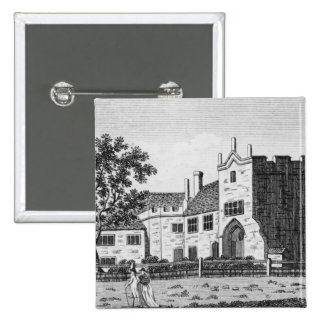 Dartford Priory, Kent 15 Cm Square Badge